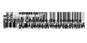 Membre de : la Chambre de commerce du Montréal métropilitain